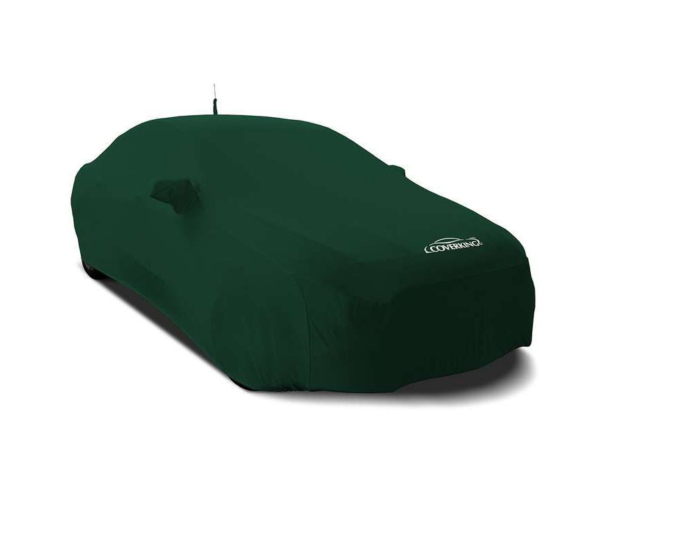 Coverking CVC3SS90FD9918 CVC3SS90 Satin Stretch British Racing Green Custom Car Cover Ford Mustang 15-17
