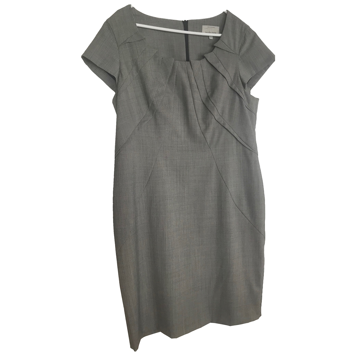 Non Signé / Unsigned \N Grey dress for Women 14-16 US