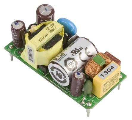 XP Power , 10W AC-DC Converter, 15V dc, Open Frame