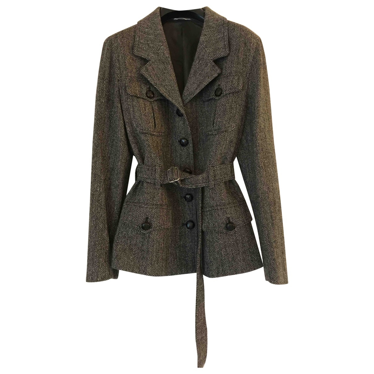Non Signé / Unsigned \N Wool jacket for Women 46 IT