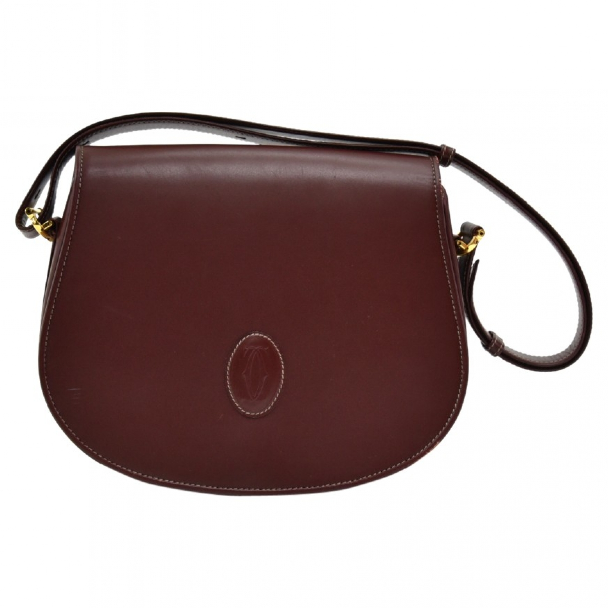 Cartier \N Burgundy Leather handbag for Women \N