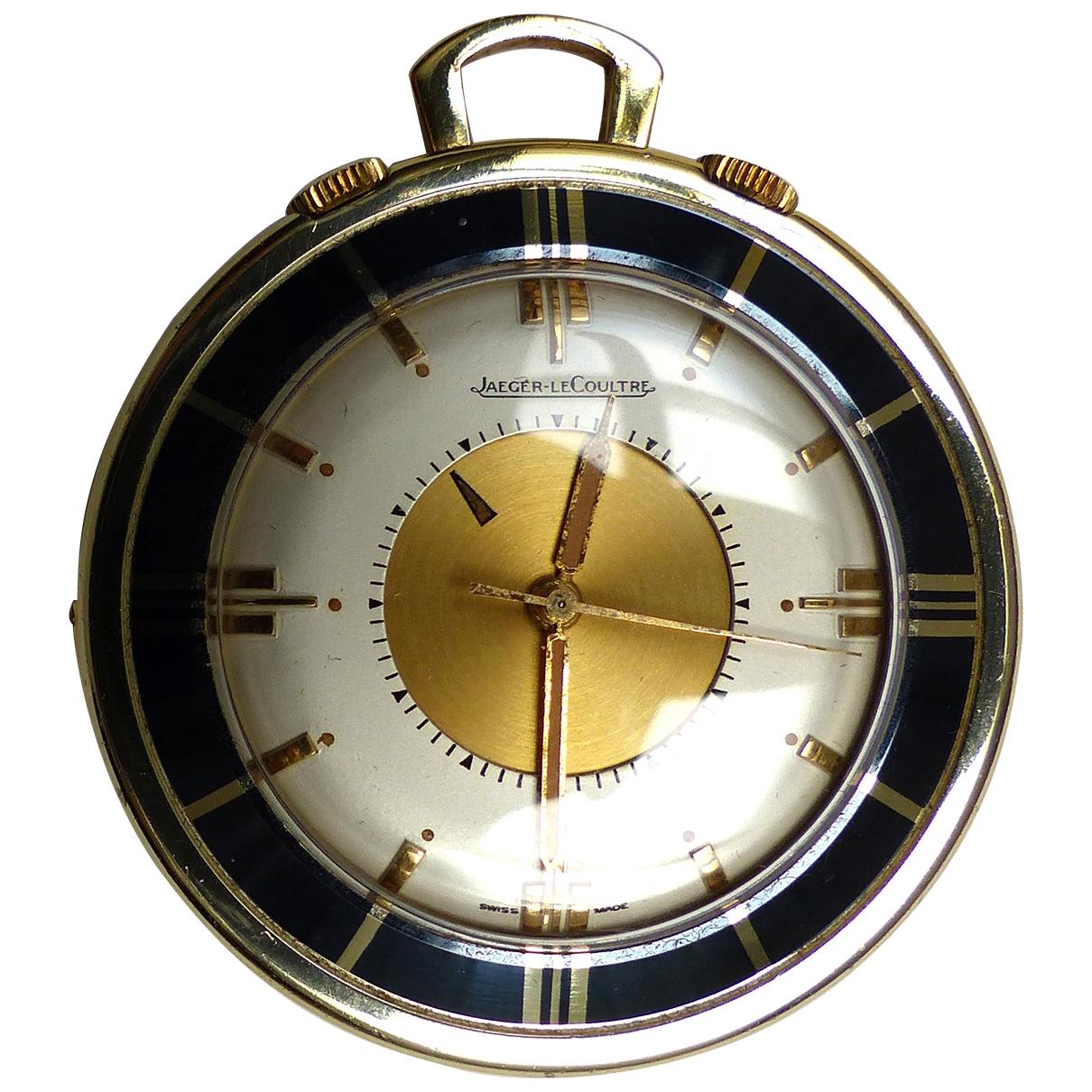 Jaeger-lecoultre Memovox Uhr in  Gold Vergoldet