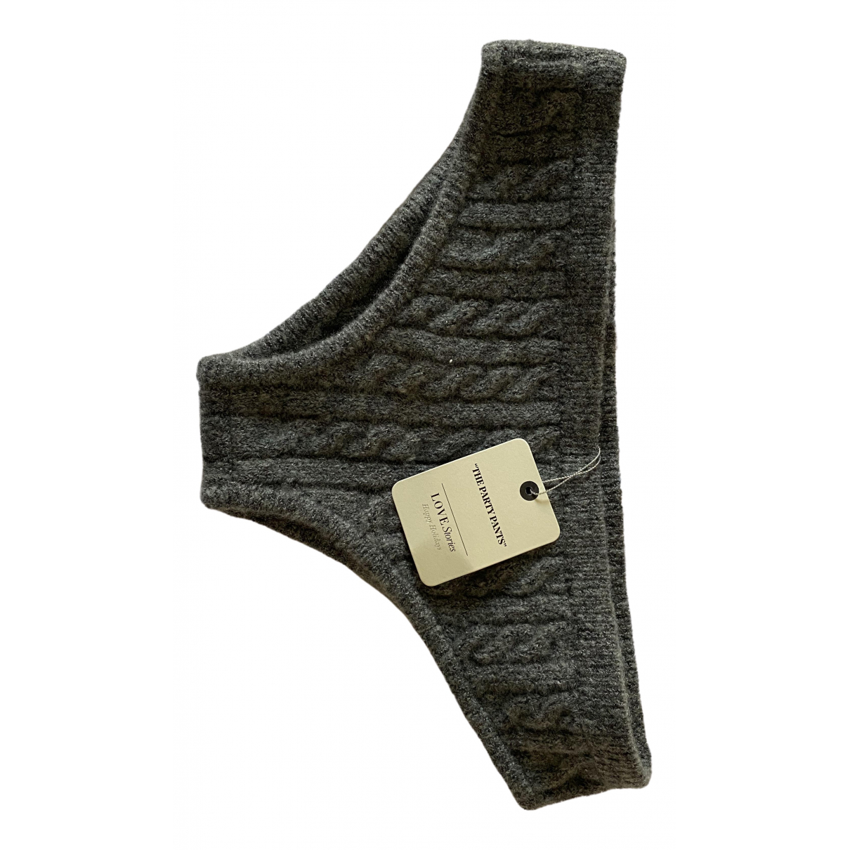 Love Stories \N Anthracite Knitwear for Women 38 FR