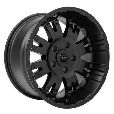 Pro Comp 01 Series Raven, 17x9 Wheel with 5 on 5 Bolt Pattern - Satin Black - 5001-7973