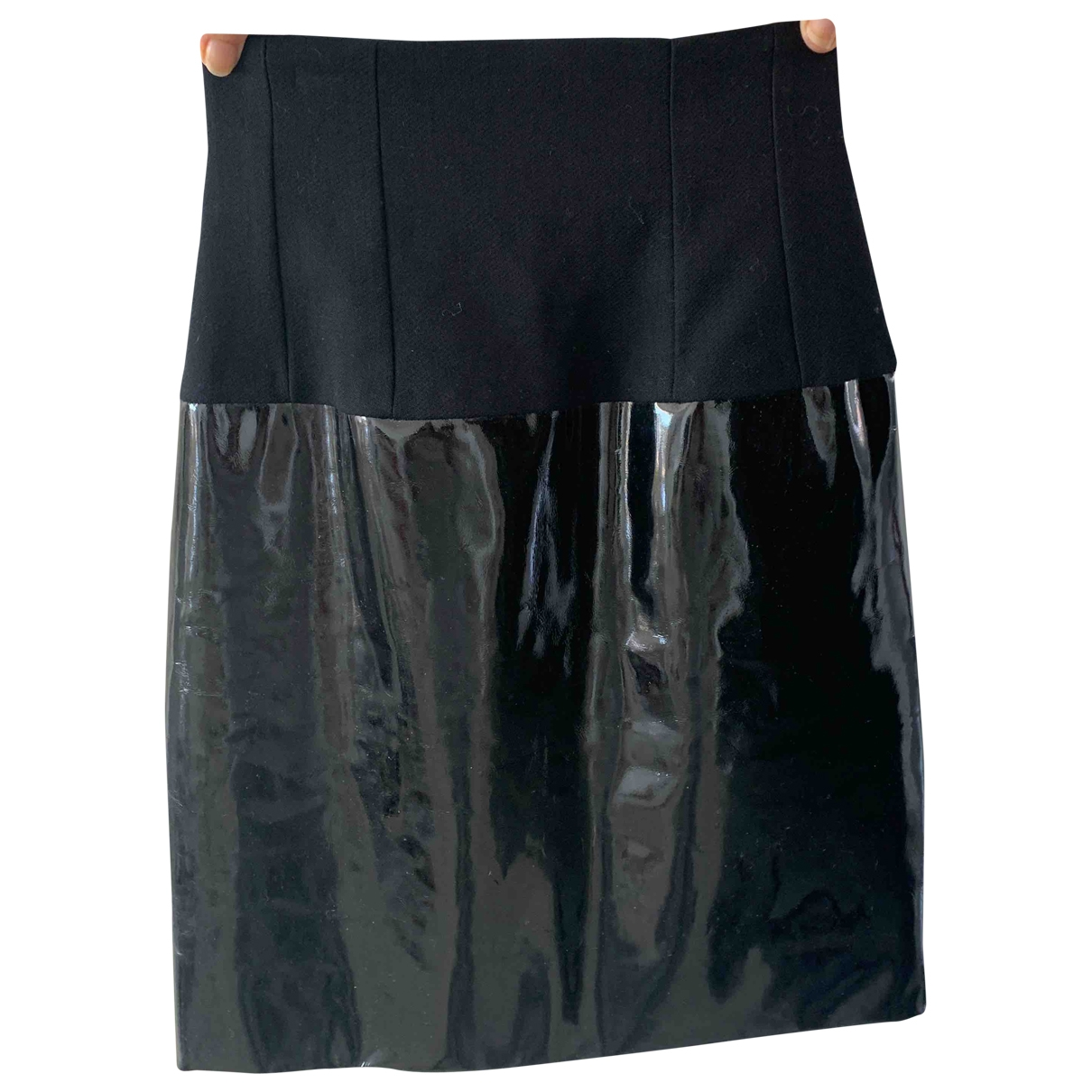 Dior \N Black Patent leather skirt for Women 34 FR