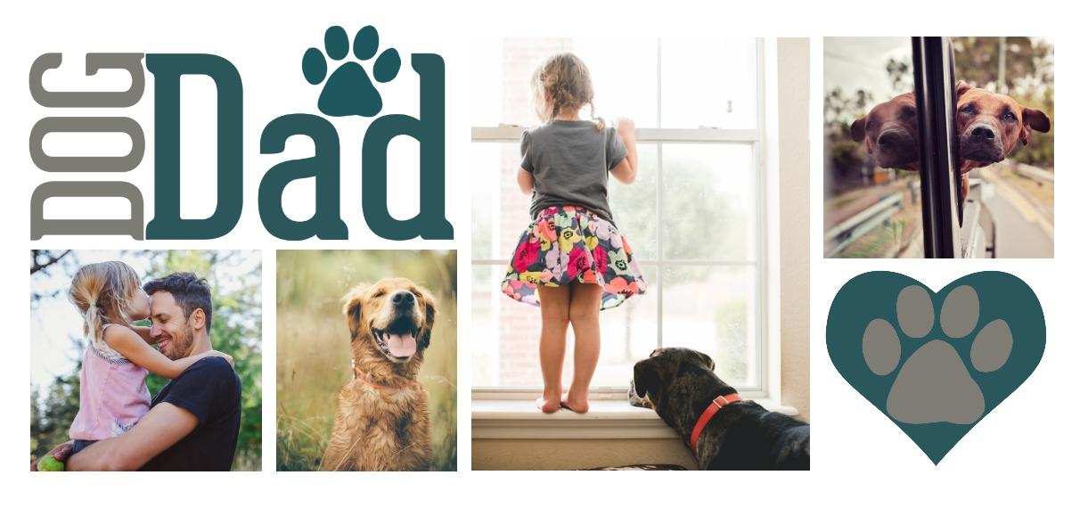 Pets 11 oz. Navy Accent Mug, Gift -Dog Dad