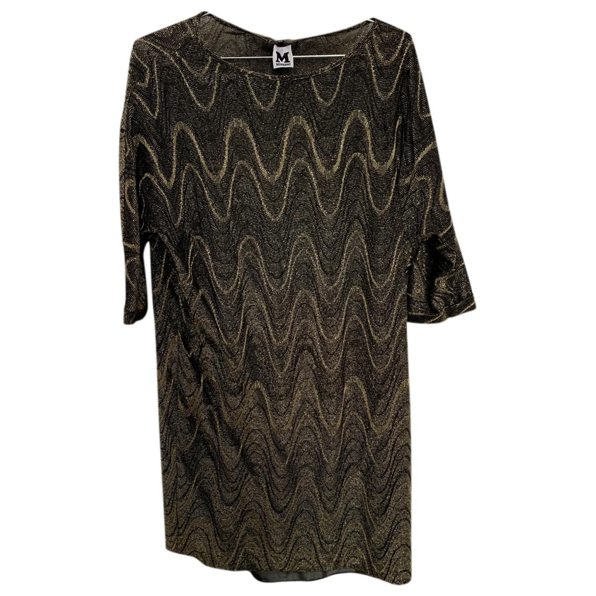 M Missoni N Gold dress for Women XS International
