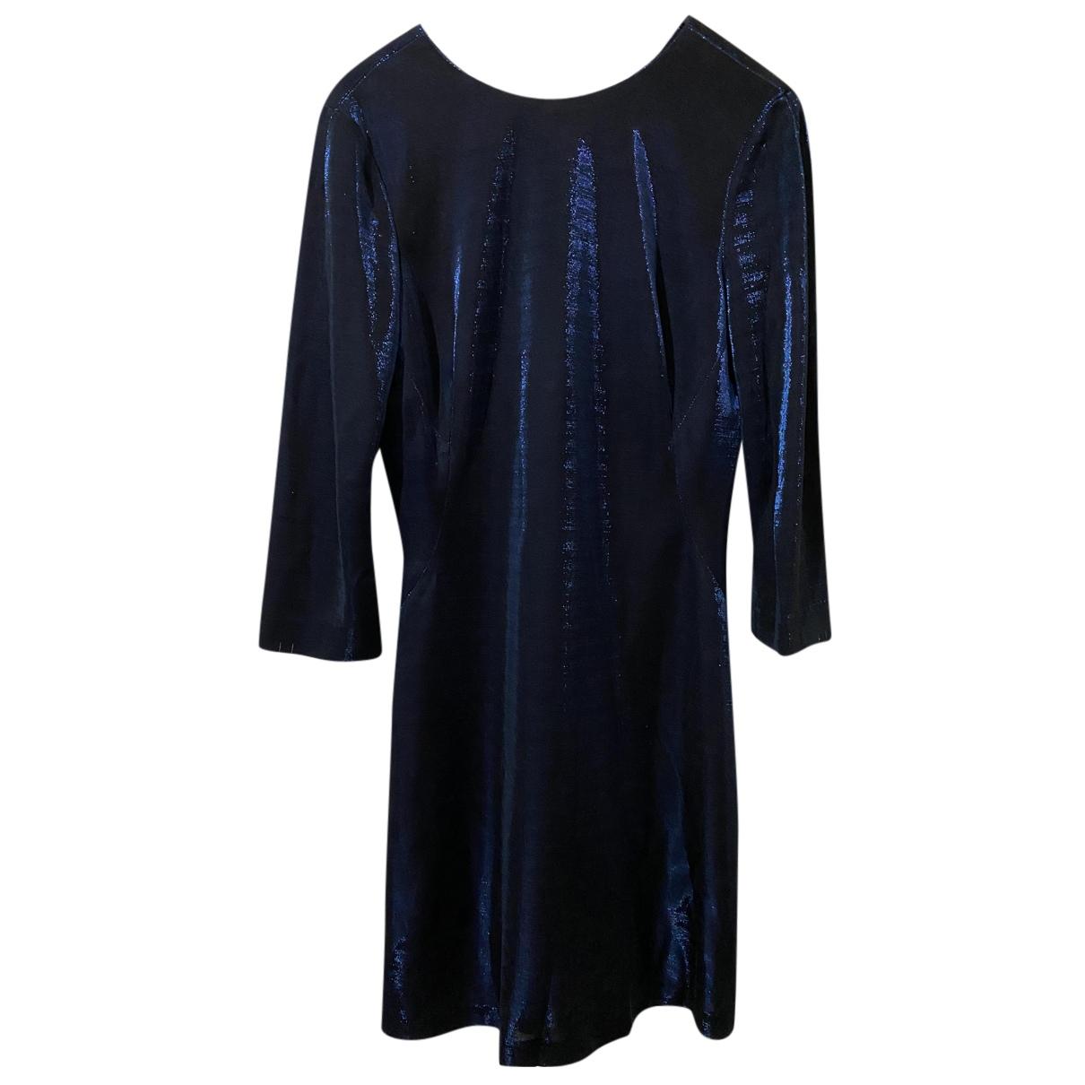 Jigsaw \N Kleid in  Blau Viskose