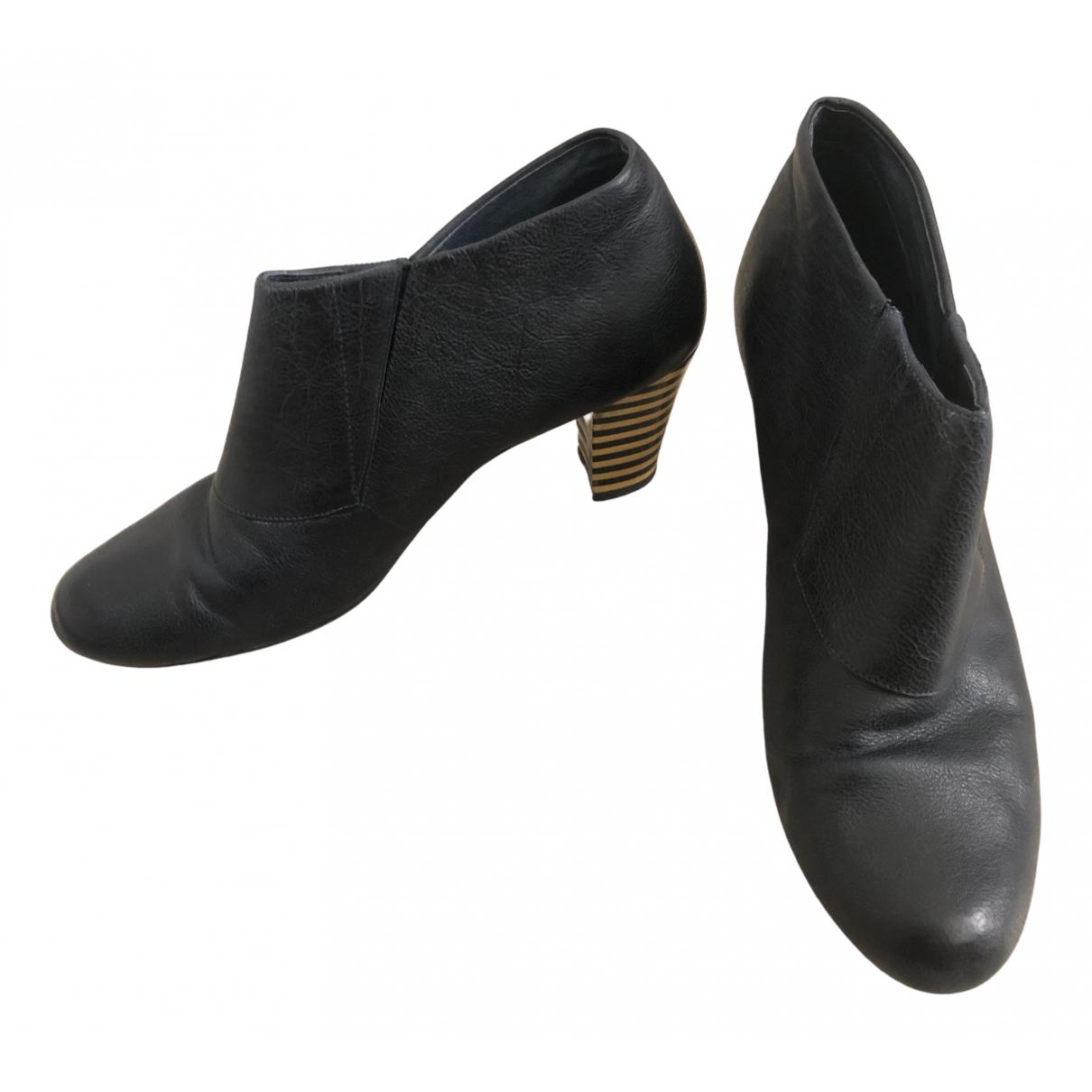 Camper - Boots   pour femme en cuir - multicolore