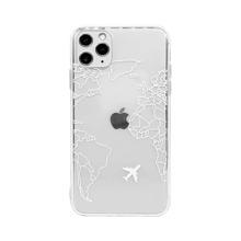 1 Stueck iPhone Schutzhuelle mit Karte Muster