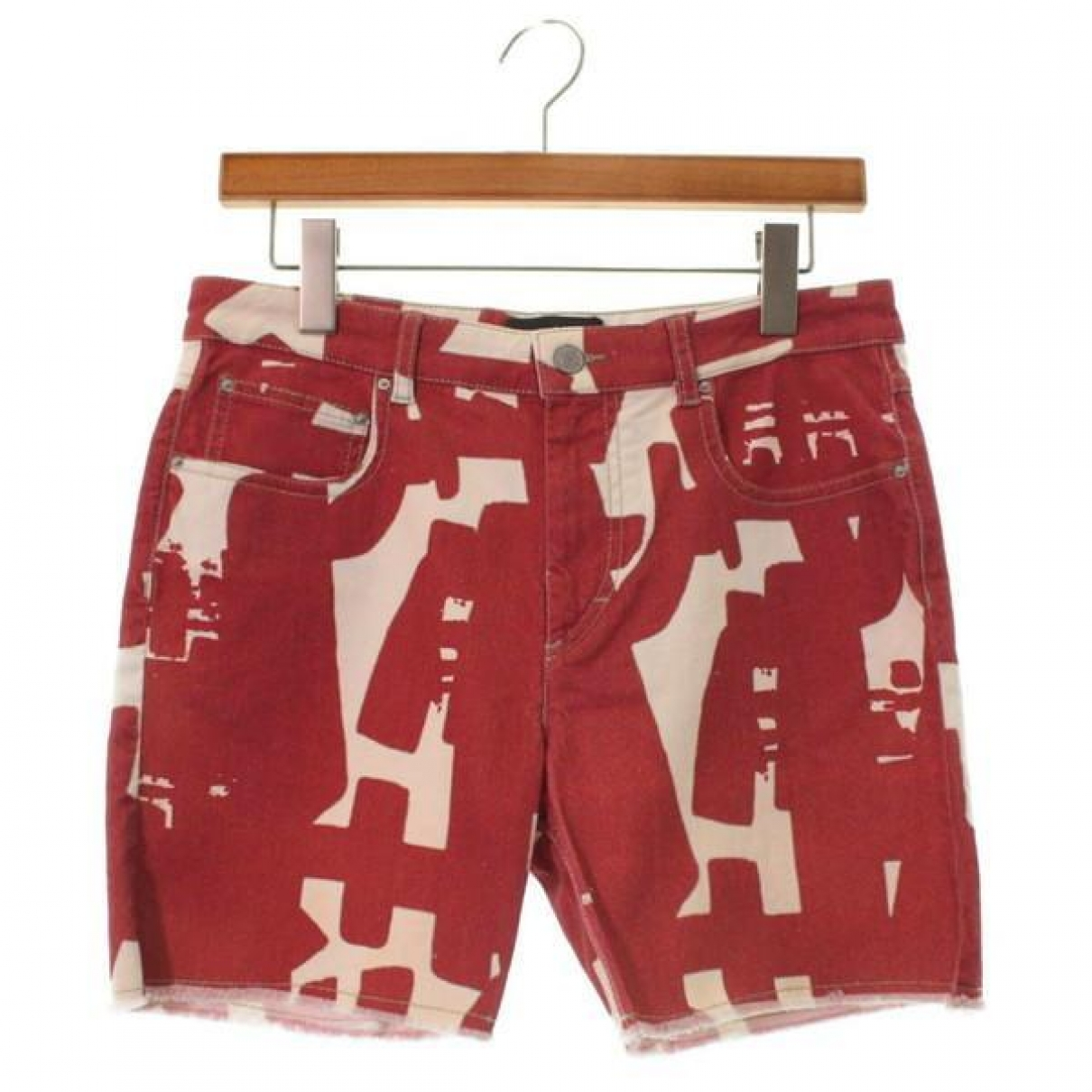 Isabel Marant \N Red Cotton Shorts for Women 36 FR