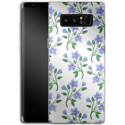 Samsung Galaxy Note 8 Silikon Handyhuelle - Fresh Bloom von Iisa Monttinen