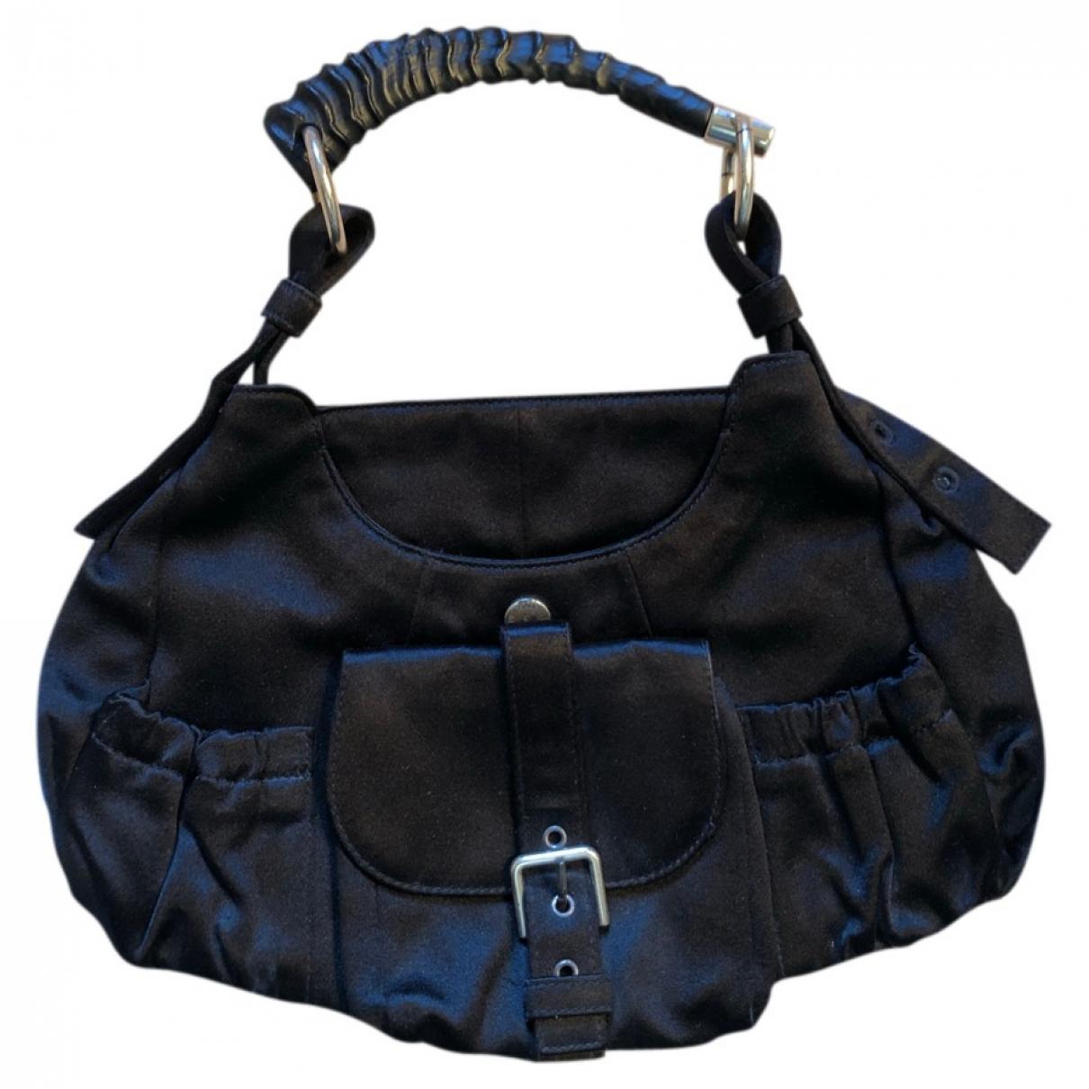 Yves Saint Laurent Mombasa Black Cloth handbag for Women \N