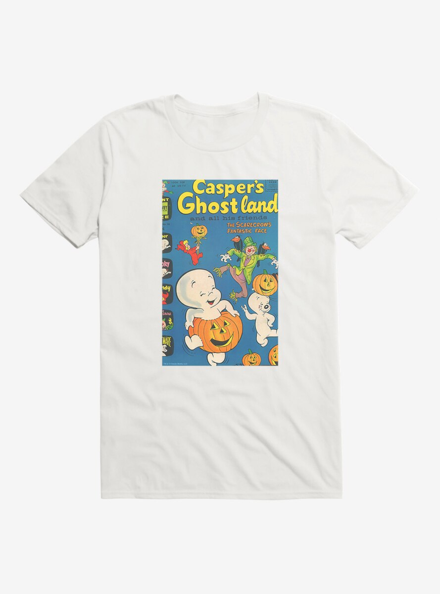 Casper The Friendly Ghost Ghostland Comic Cover T-Shirt