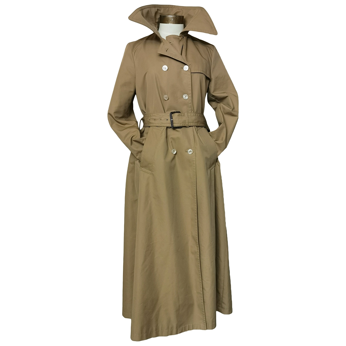 Gucci \N Trench in  Beige Baumwolle