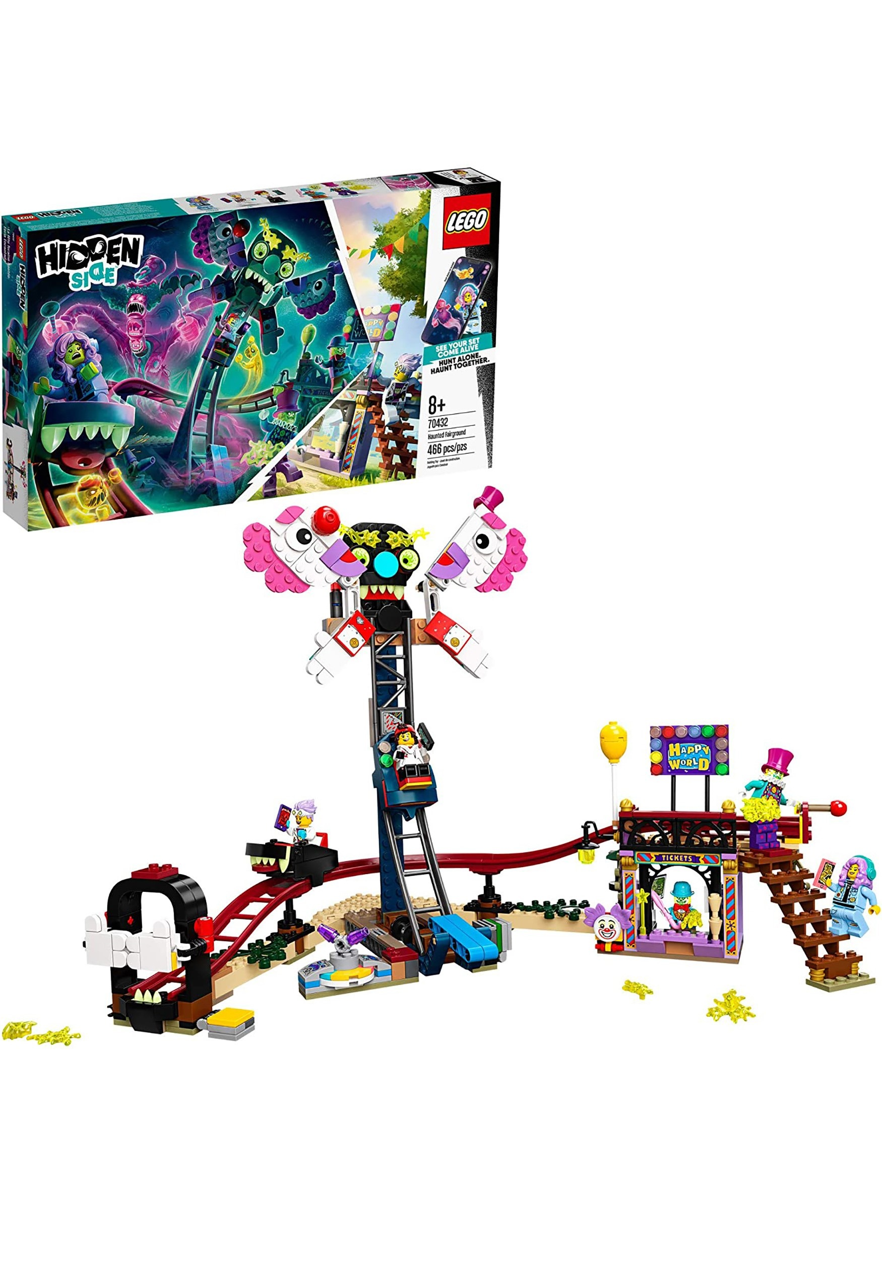 LEGO Hidden Side Haunted Fairground Building Set