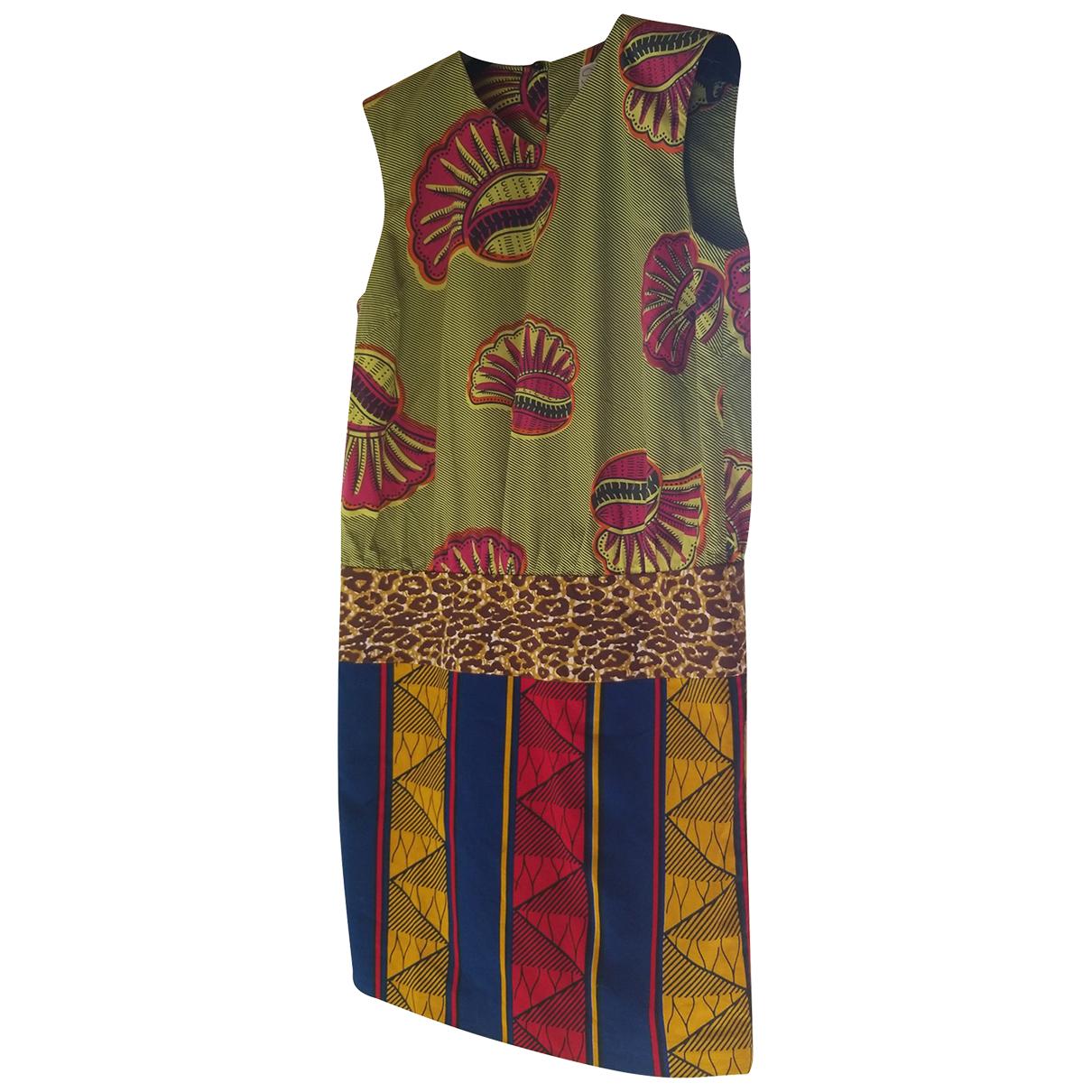 Stella Jean - Robe   pour femme en coton - multicolore