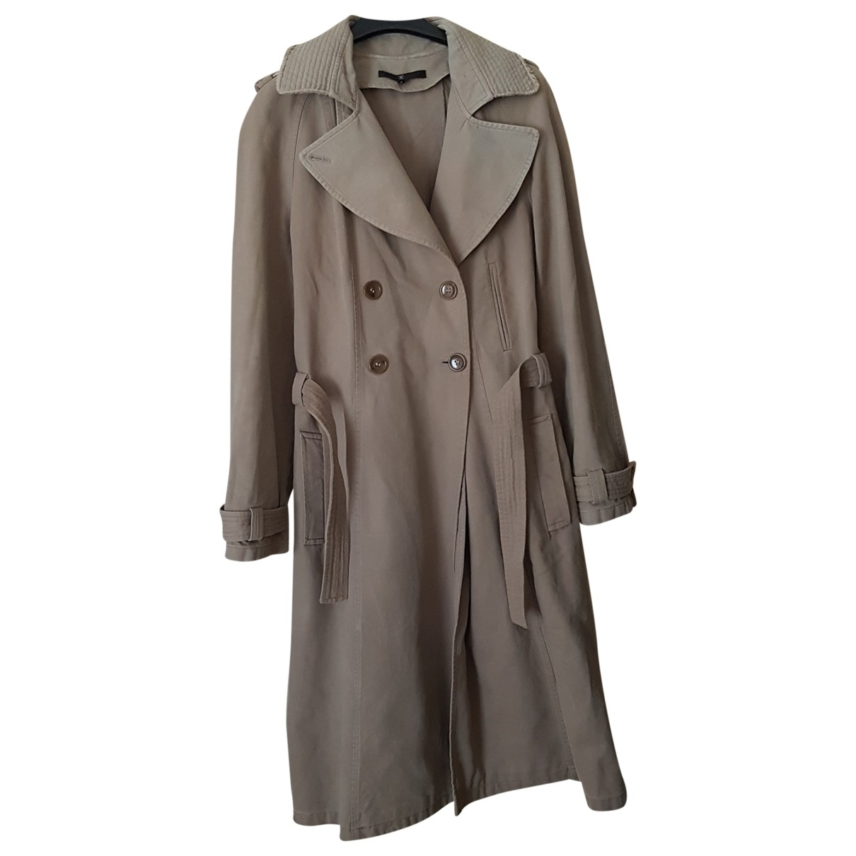 Isabel Marant Etoile \N Khaki Cotton Trench coat for Women 3 0-5