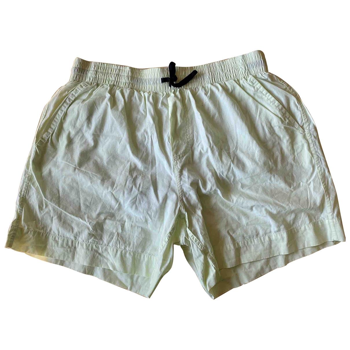 Balmain \N Green Cotton - elasthane Swimwear for Men M International