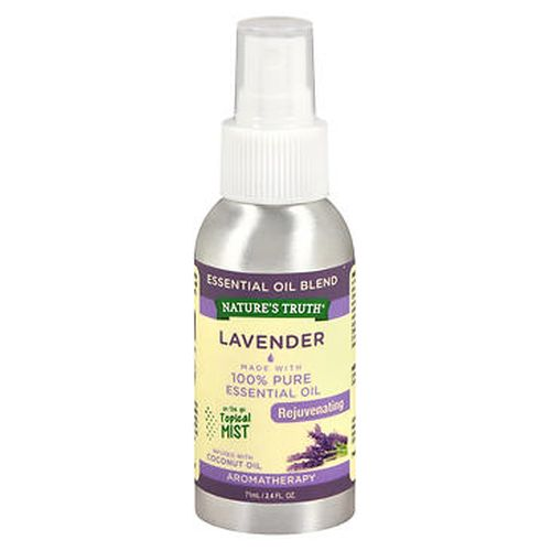 NatureS Truth Lavender Rejuvenating On The Go Topical Mist 2.4 Oz by Natures Truth