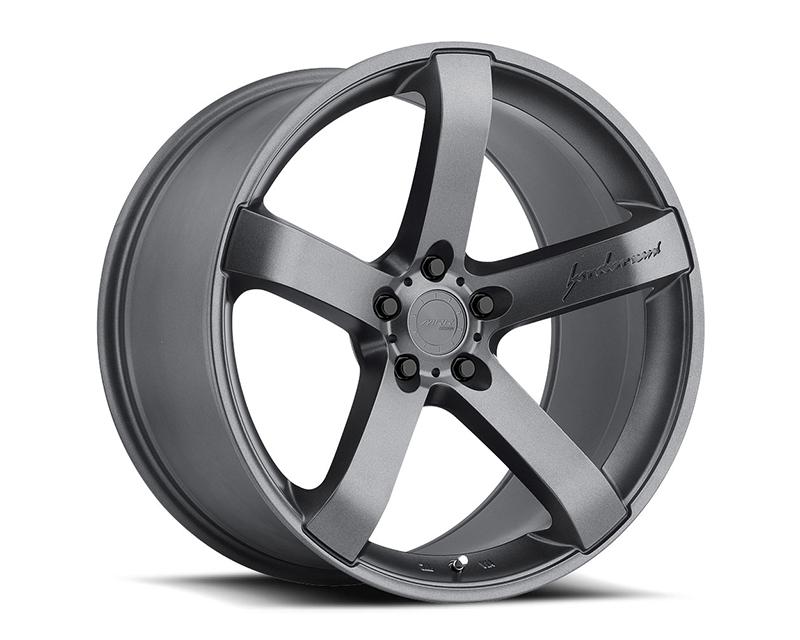 MRR Design Matte Gunmetal VP5 Wheel 19x9.5