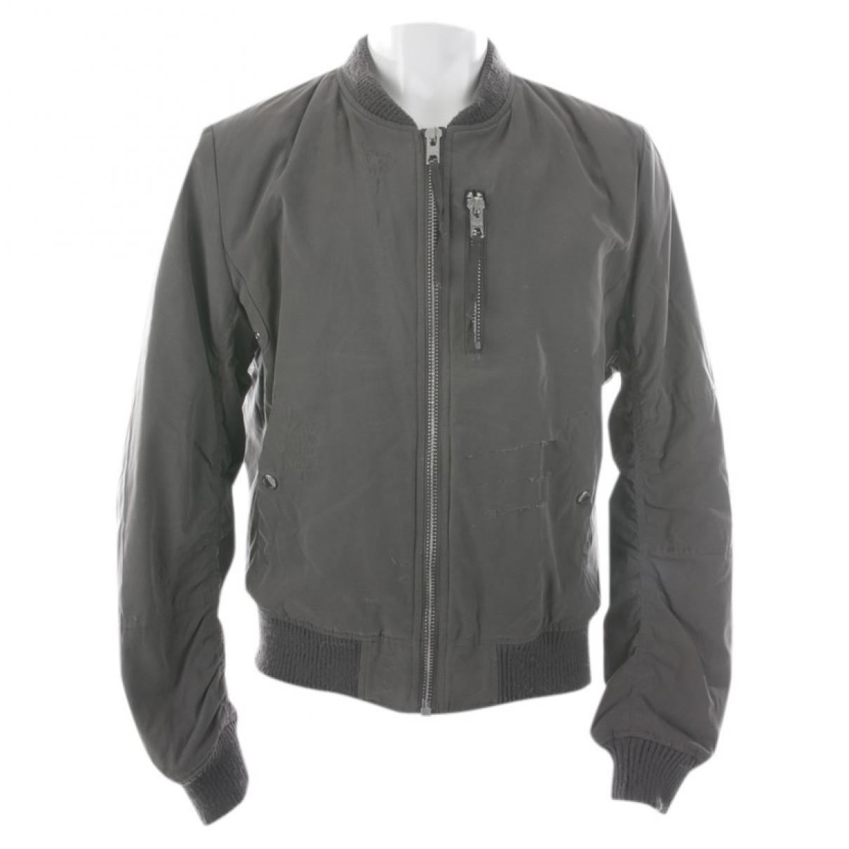 Autre Marque \N Grey Cotton jacket for Women L International