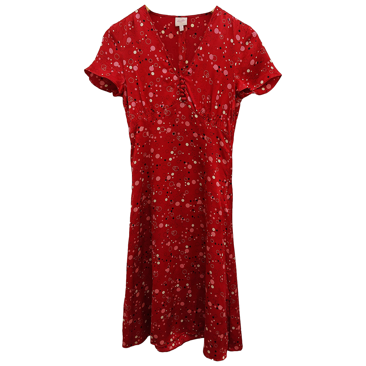 Whistles N Red Silk dress for Women 36 FR