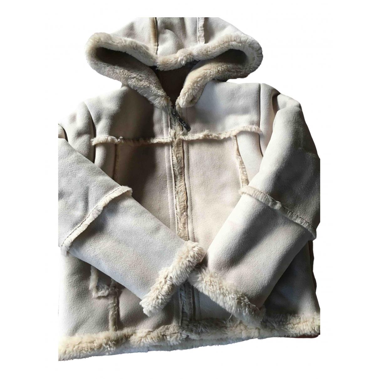Il Gufo - Blousons.Manteaux   pour enfant en suede - beige
