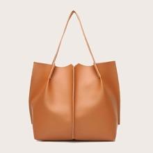 Minimalist Plain Tote Bag
