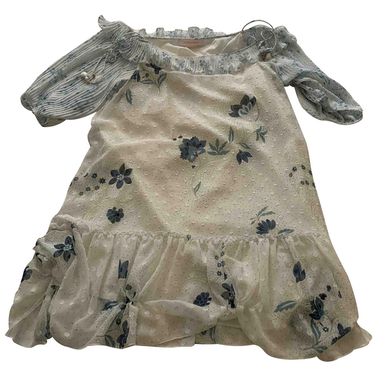 See By Chloe \N Kleid in  Weiss Polyester