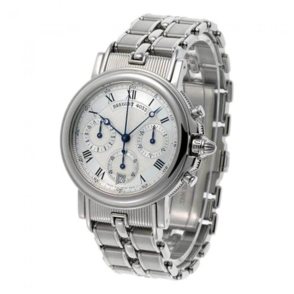 Breguet \N Uhr in  Silber Stahl
