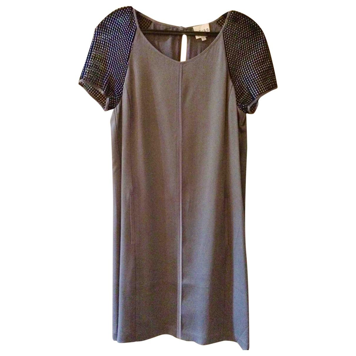 Reiss \N Kleid in  Silber Polyester