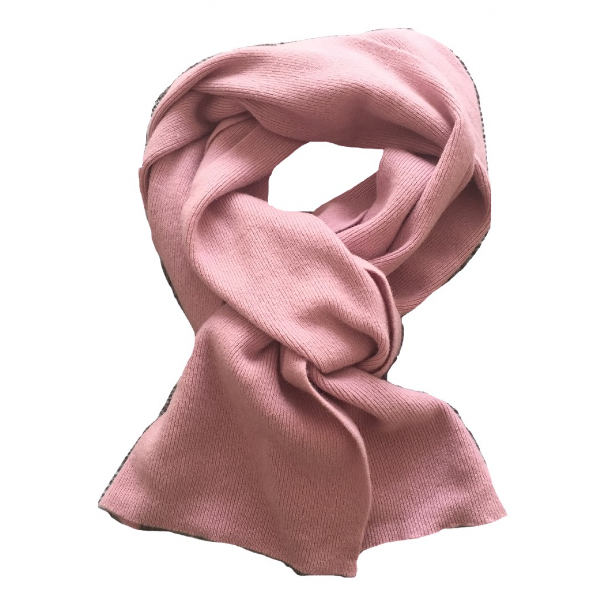 Benetton \N Schal in  Rosa Wolle