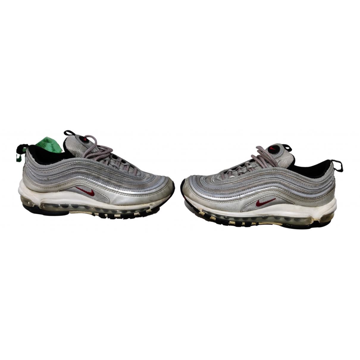 Nike Air Max 97 Silver Cloth Trainers for Women 38.5 EU