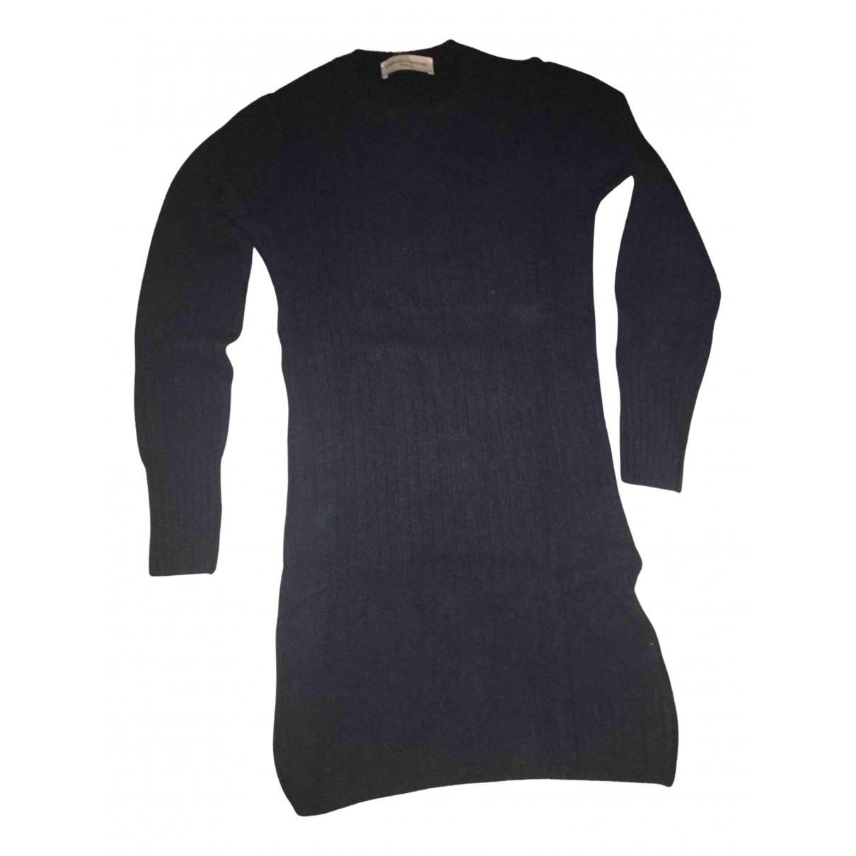 Officine Generale - Robe   pour femme en laine - bleu