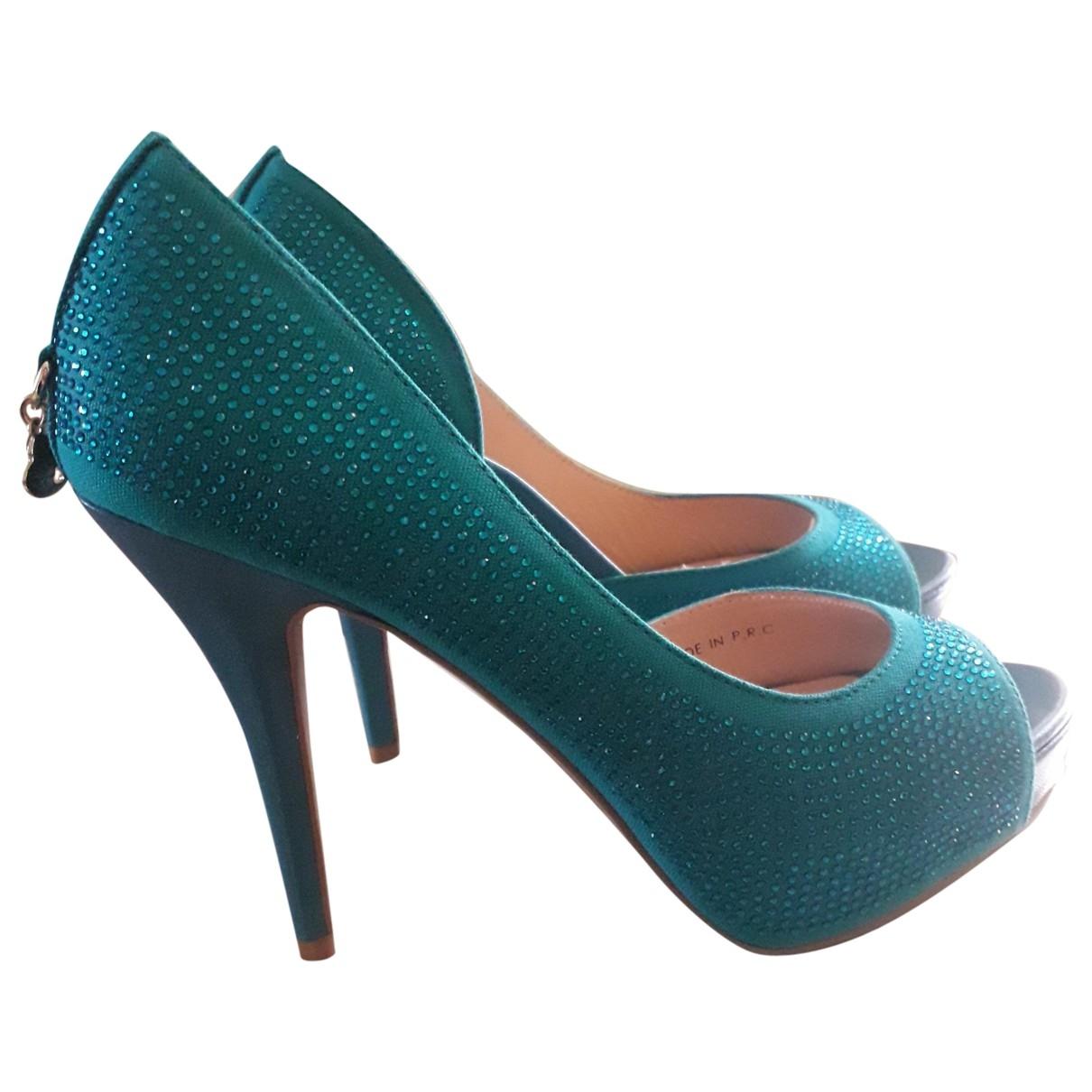 Liu.jo \N Turquoise Cloth Heels for Women 39 IT