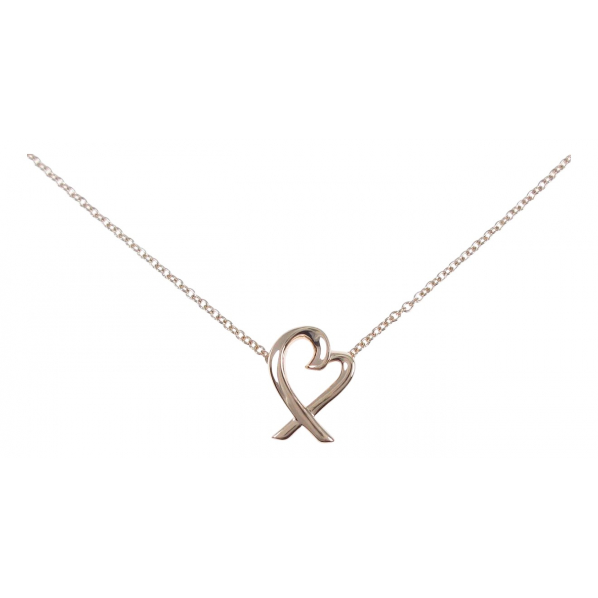 Tiffany & Co Paloma Picasso Kette in  Silber Rosegold