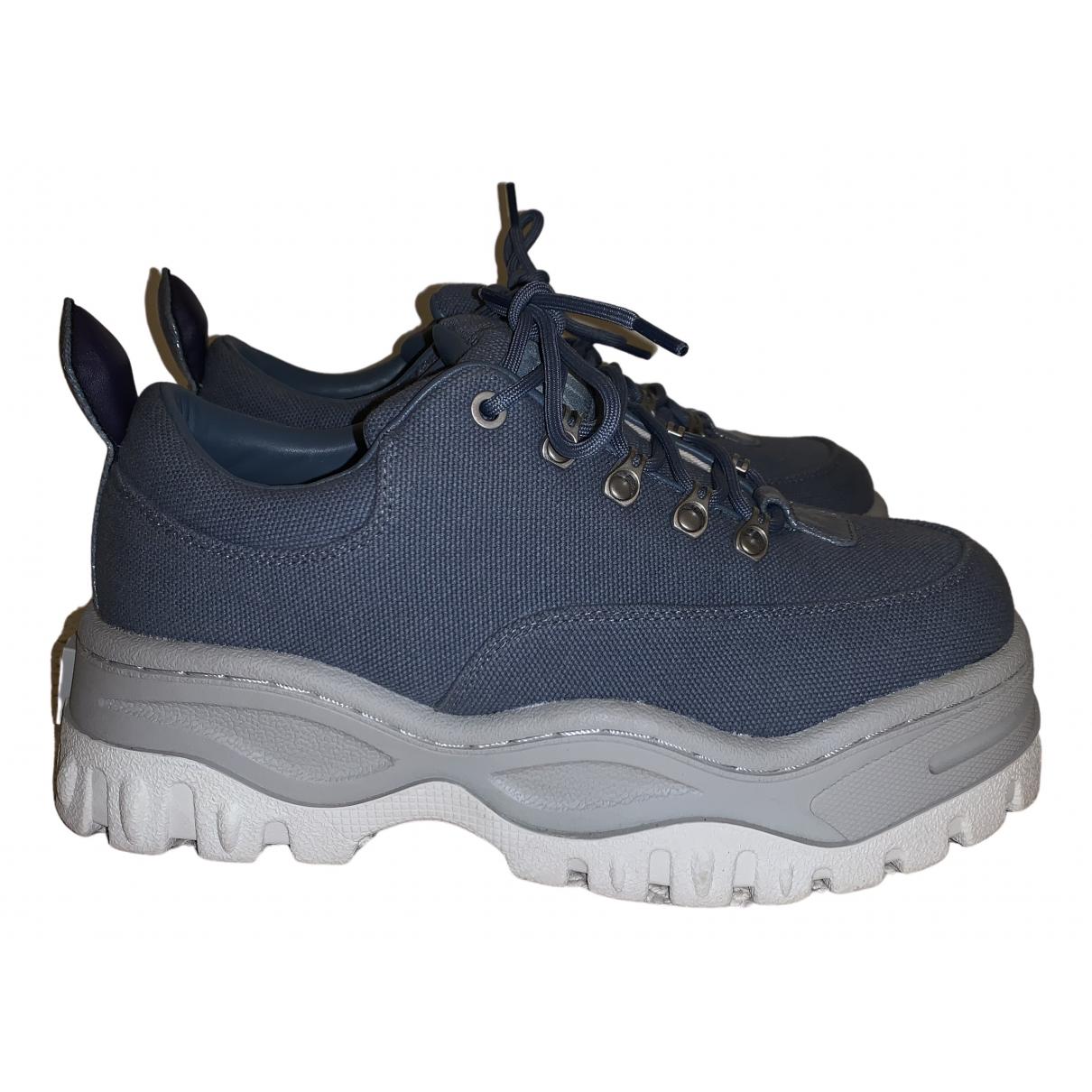 Eytys \N Sneakers in  Blau Leinen