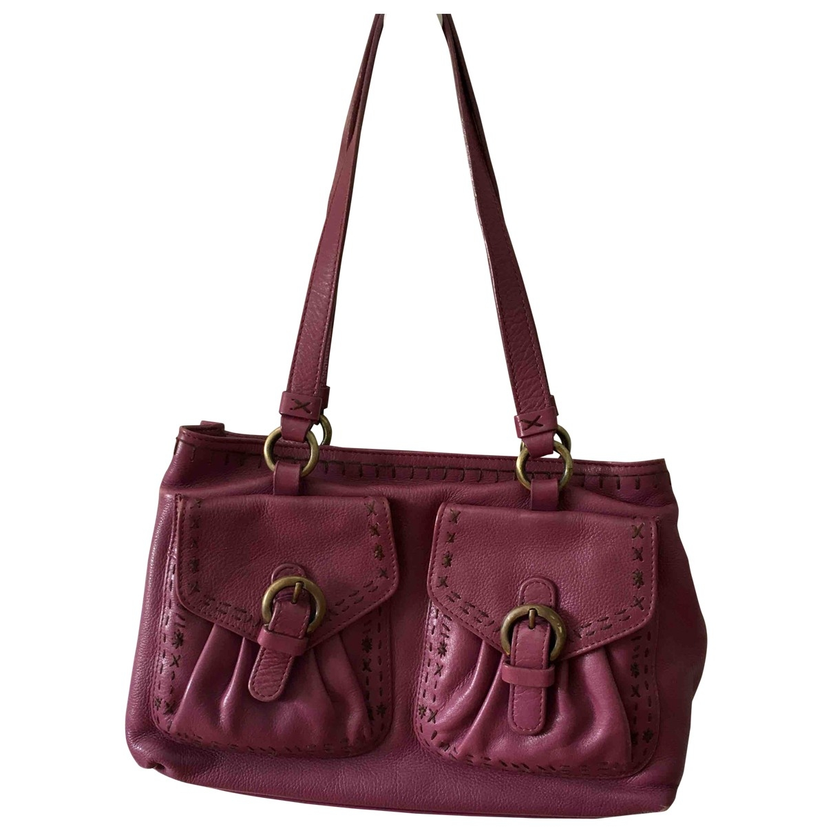Moschino Cheap And Chic \N Handtasche in  Rosa Leder