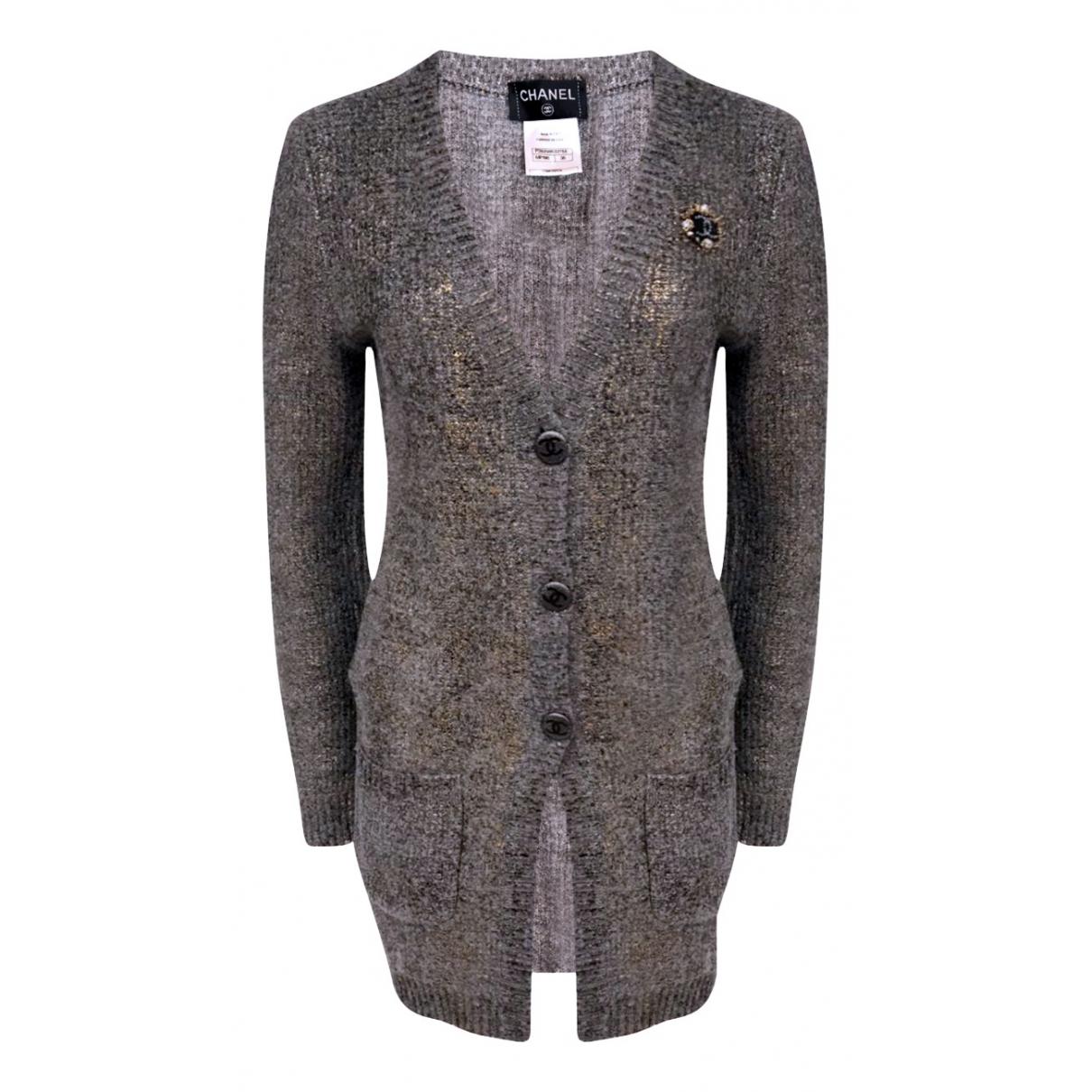 Chanel N Grey Cashmere Knitwear for Women 36 FR