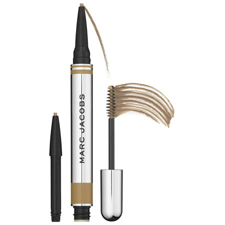 Marc Jacobs Beauty Brow Wow Duo Brow Powder Pencil and Tinted Gel + 1 Pencil Refill, One Size , No Color Family