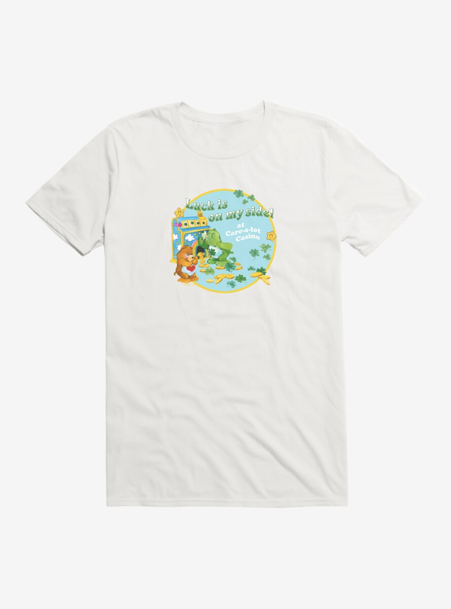 Care Bears Luck On My Side Stamp T-Shirt