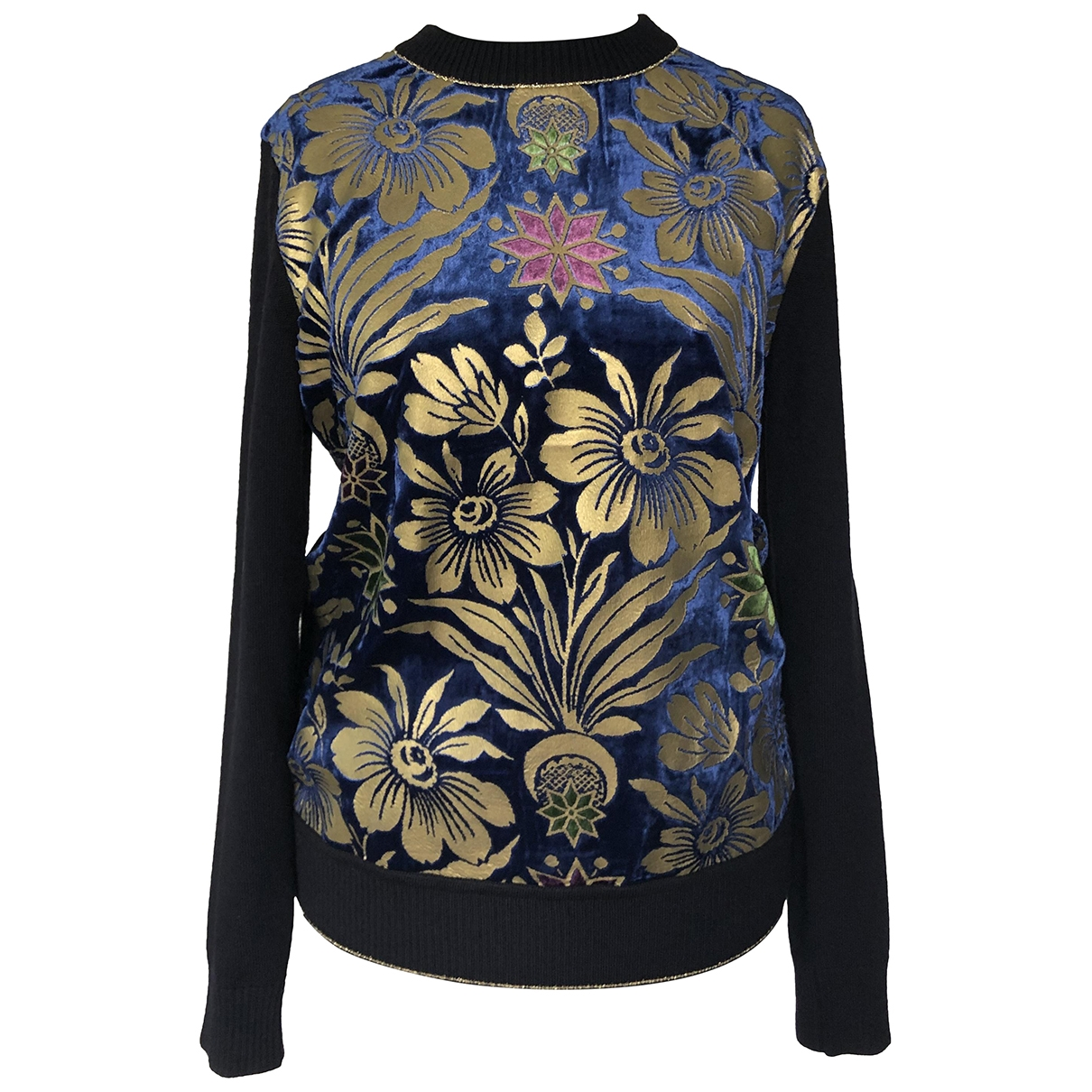 Tory Burch \N Pullover in  Marine Wolle