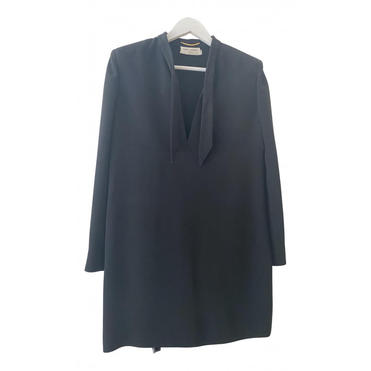 Mini vestido Saint Laurent