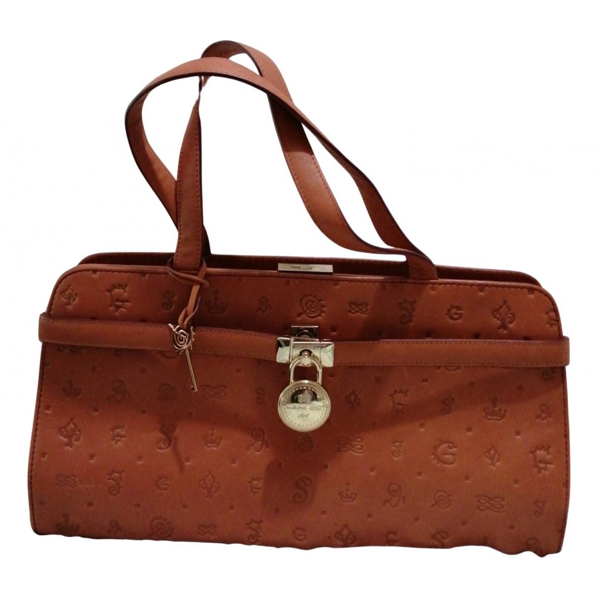 Lancel N Brown Leather handbag for Women N