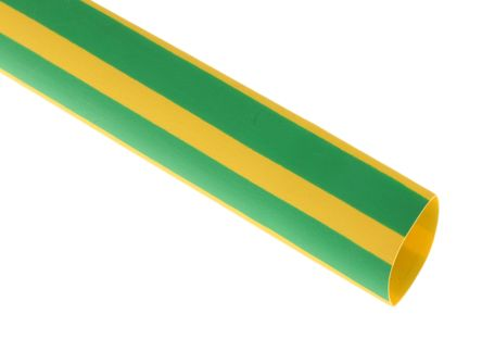 HellermannTyton Heat Shrink Tubing, Green 12mm Sleeve Dia. x 1m Length 3:1 Ratio, TREDUX Series