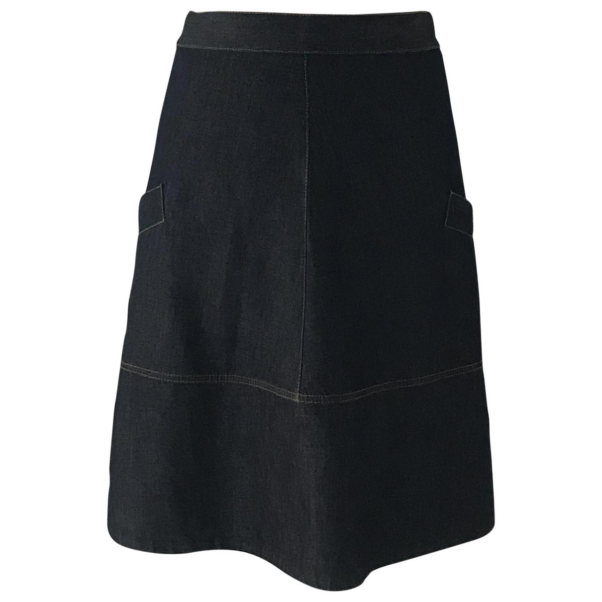 Marni \N Blue Denim - Jeans skirt for Women 40 IT
