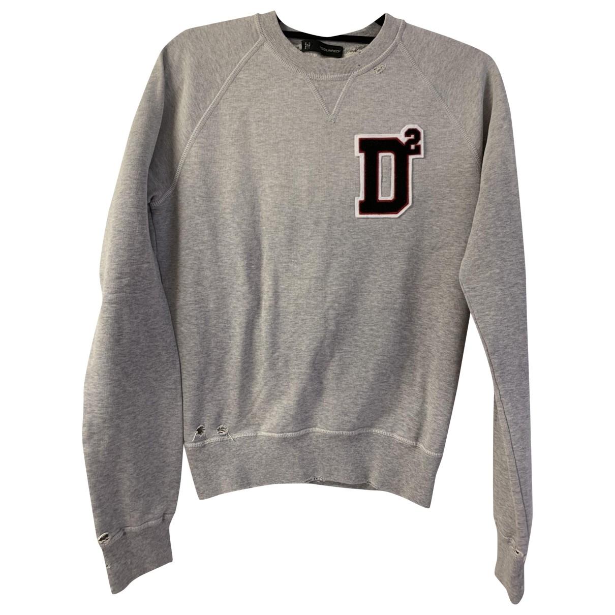 Dsquared2 - Pull   pour femme en coton - gris
