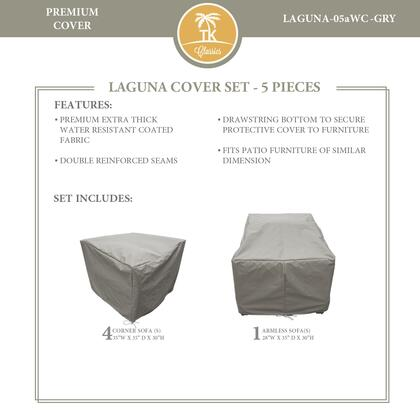 LAGUNA-05aWC-GRY Protective Cover Set  for LAGUNA-05a in