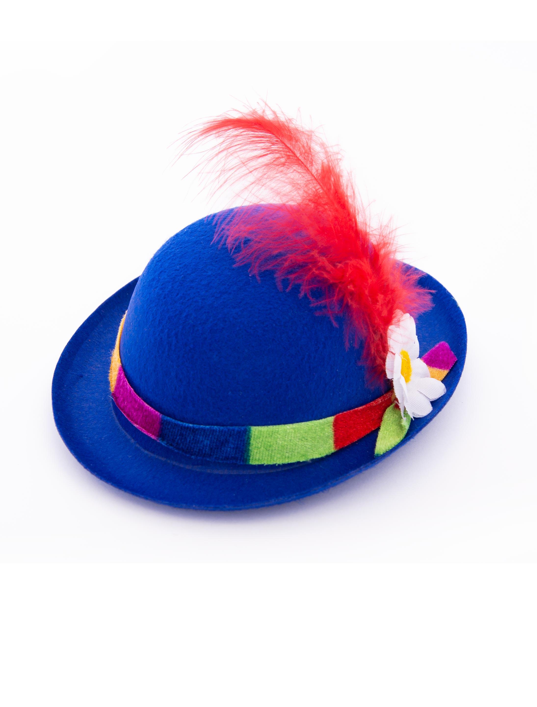 Kostuemzubehor Midi Melone Clown blau
